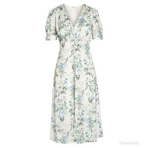 Gal Meets Glam Lauren Botanical Garden Print Dress